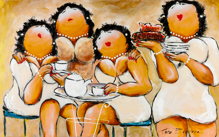Dames in het Wit