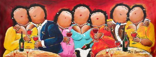 Dikke Dames schilderijen Theo Broeren