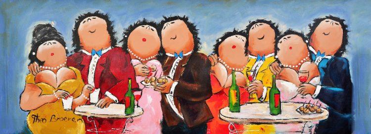Samen feest