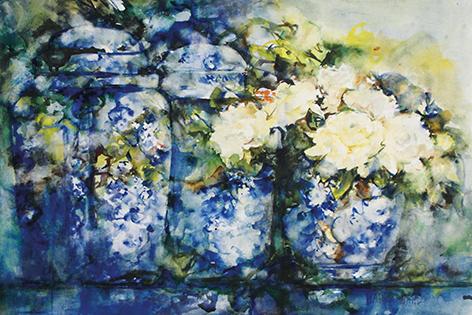 Mart Waals – Porcelain pots