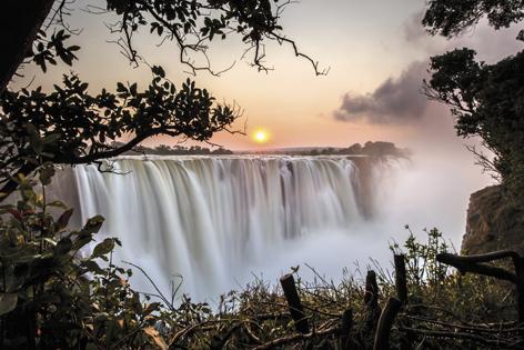 Victoria Falls Waterval Natuur Water