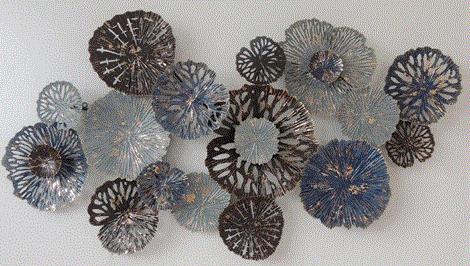 Bloemen en cirkels