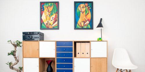 Hoe hoog moet ik mijn schilderij ophangen? – Stappenplan