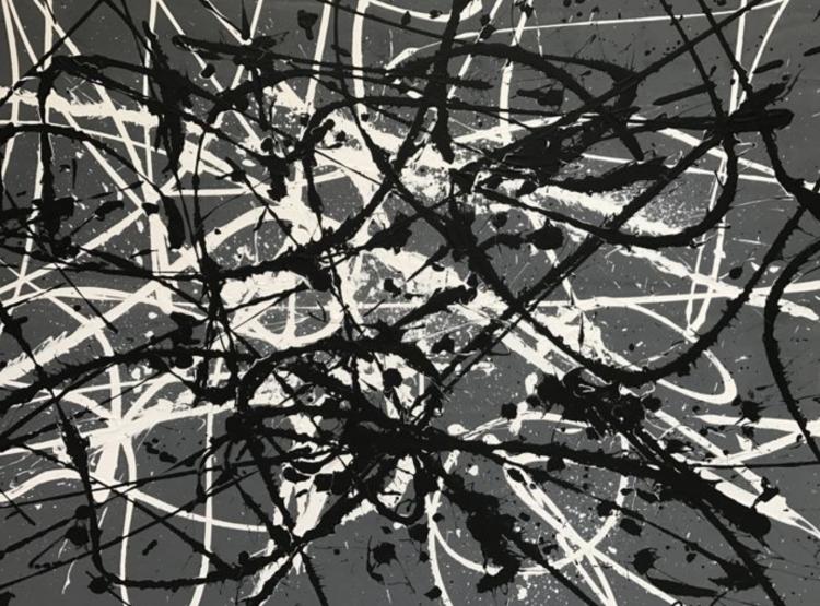untiteld in grey and black – Door: Rick Triest