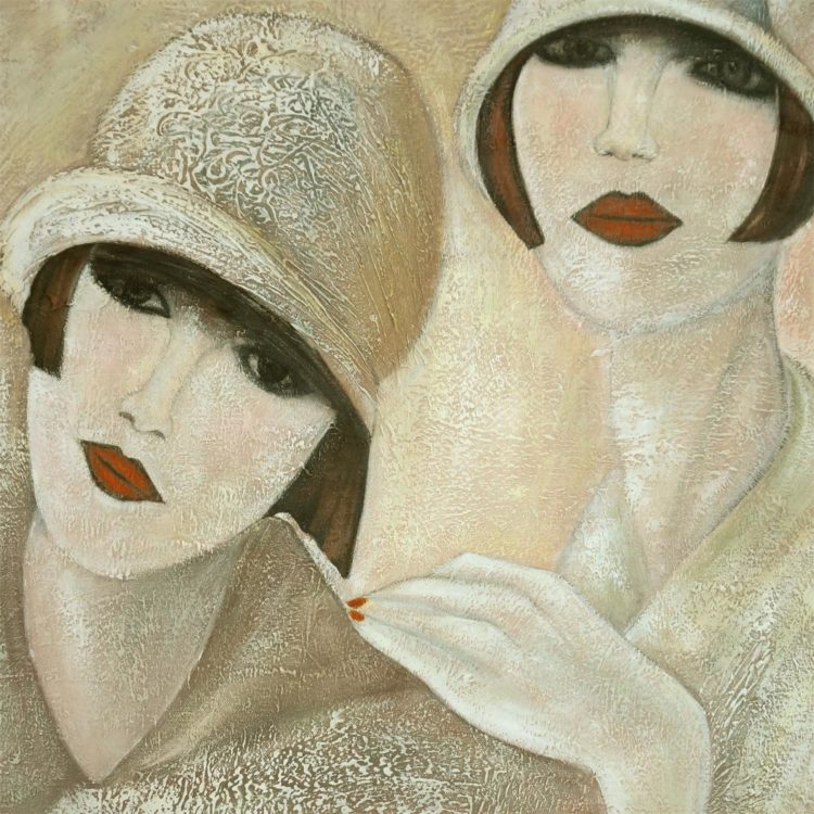 Twee dames