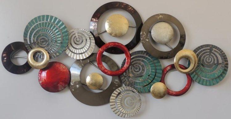 Veelkleurige rondes