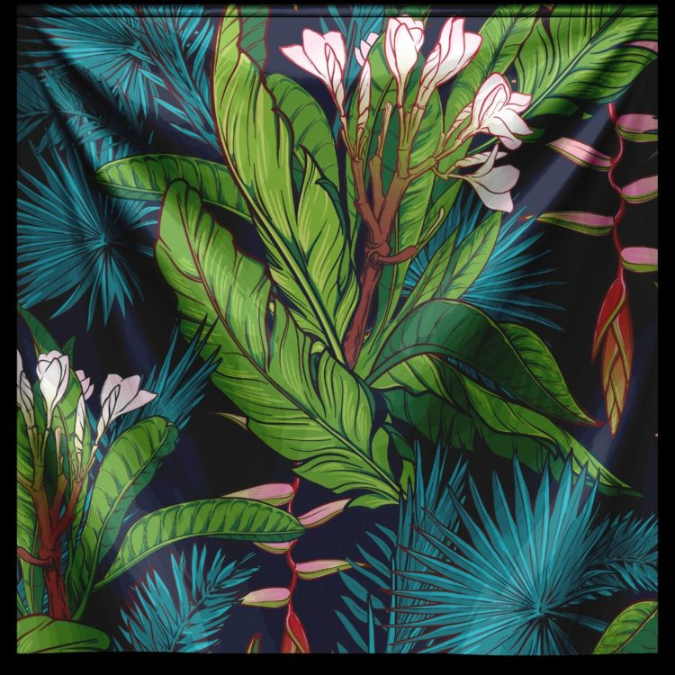 "Wandkleed ""Tropical Jungle"" van Mondiart"