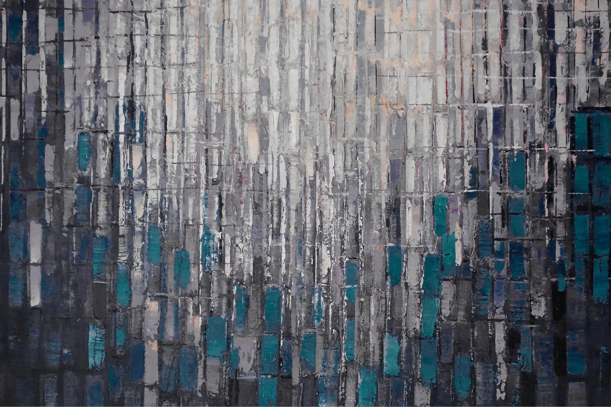 schilderij Ritme kunstwerk abstract EA-FG34