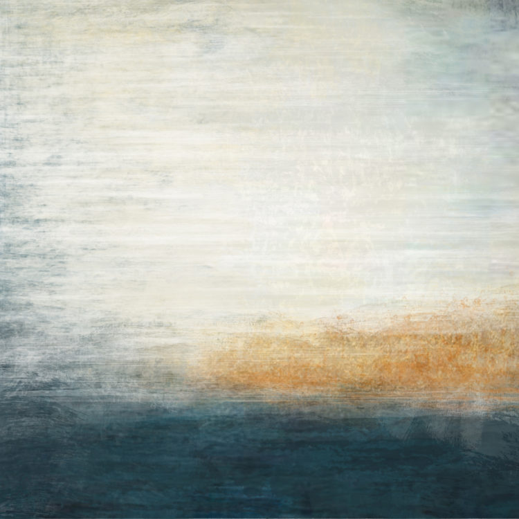 "Schilderij ""Blauwe luchten"""