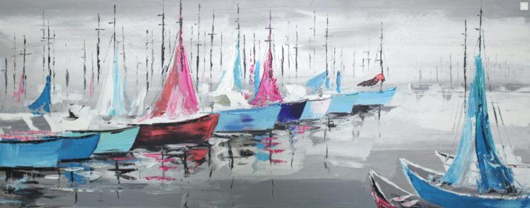 """Schilderij """"Harbor"""""""