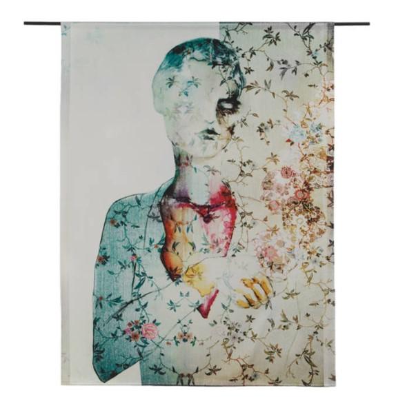 """Wandkleed """"Thoughts"""" van Urban Cotton"""