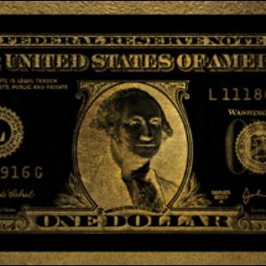 One Dollar Washington gold
