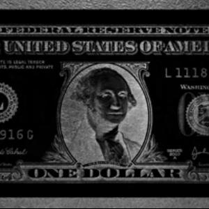 One Dollar Washington Parelmoer
