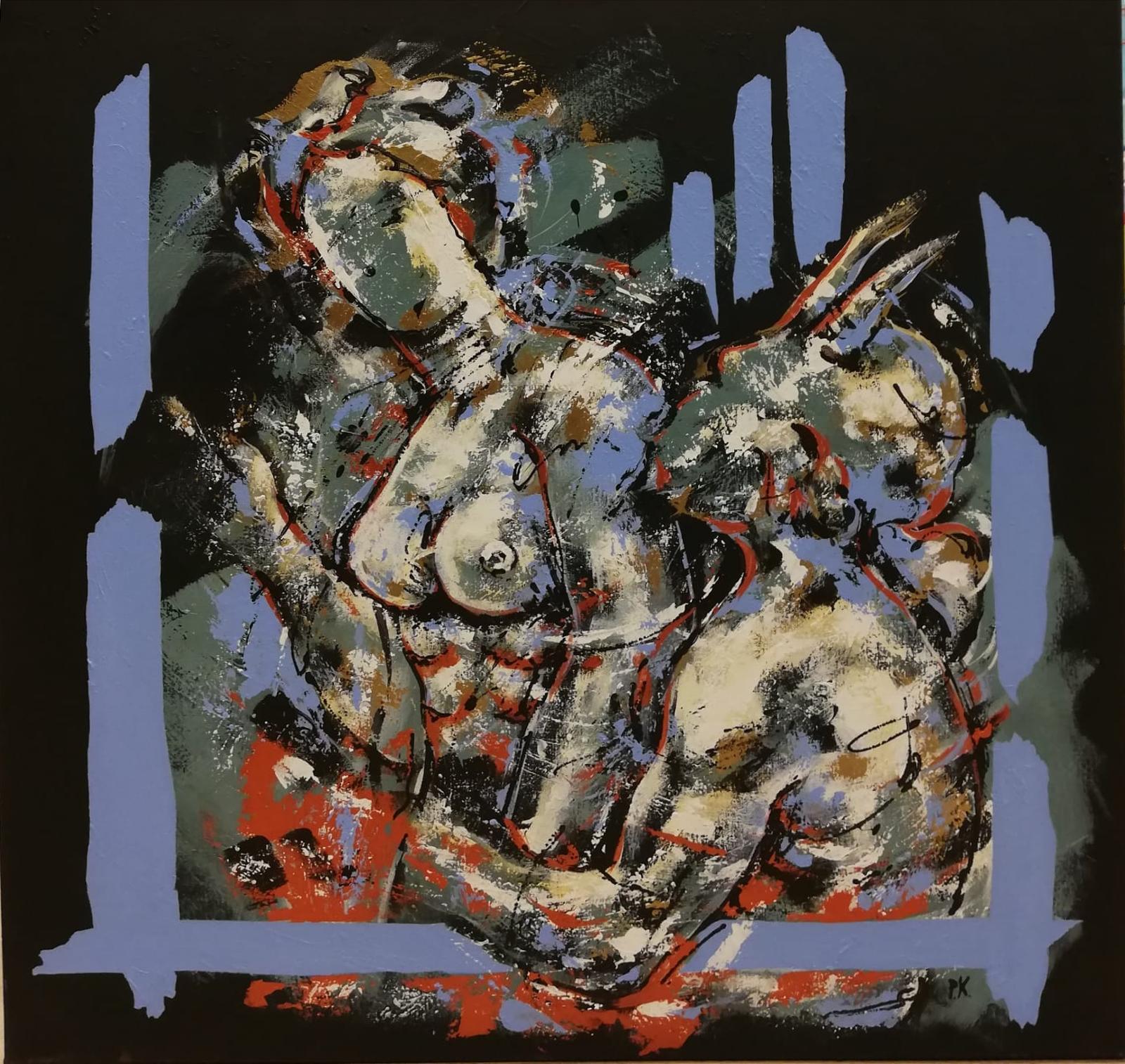 Kunstwerk Pan schldeirj Piet kouwenhoven PK02-18
