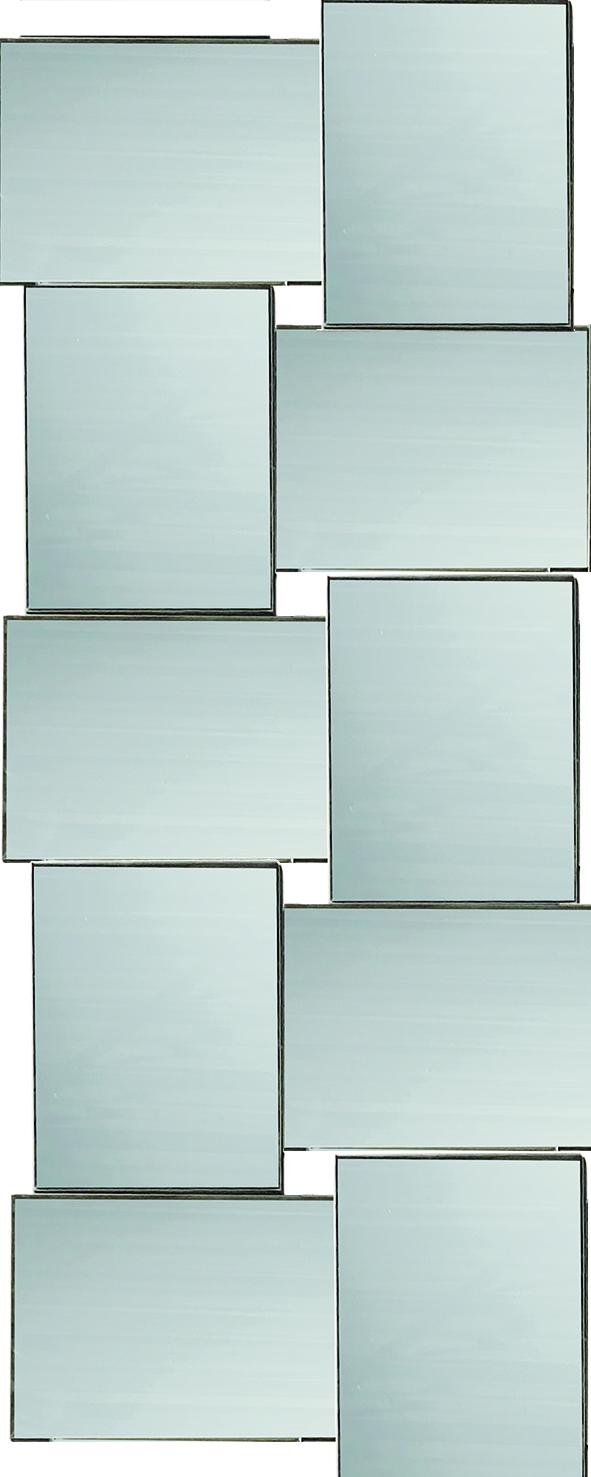 Spiegel Pearl Vakjes (helder)