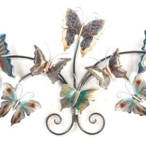 Vlinders op een rij