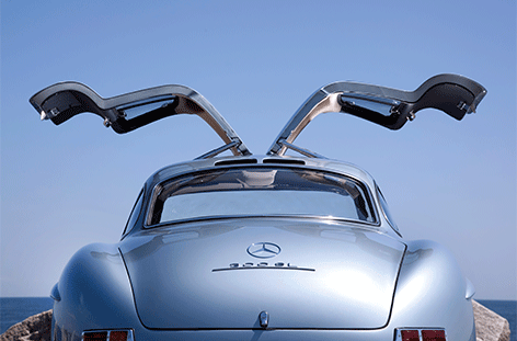 DIB1539 AluArt MA, Mercedes Benz Gullwing doors