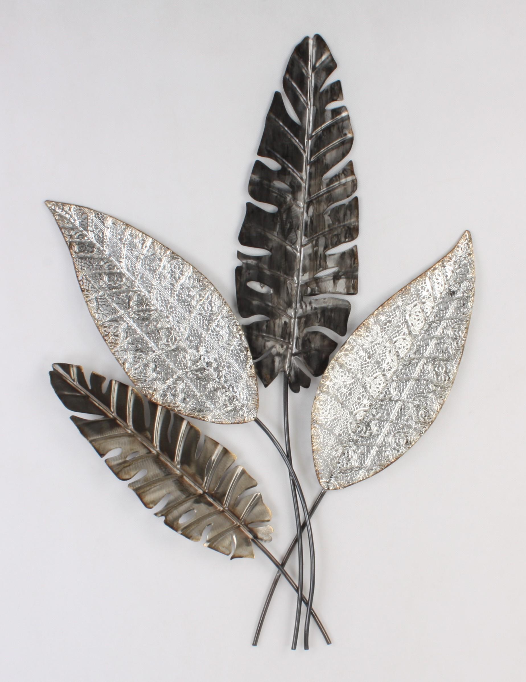 Metalen wanddecoratie Trog