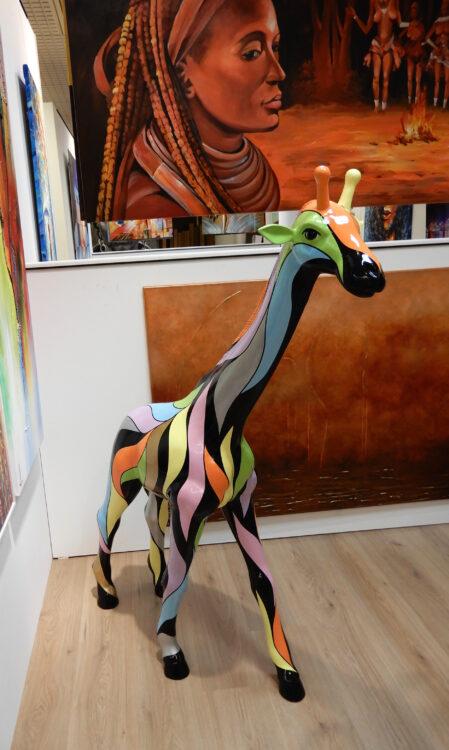 giraffe groot andere kant