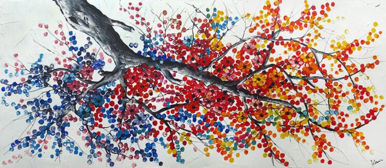 """Schilderij """"Tree II"""""""