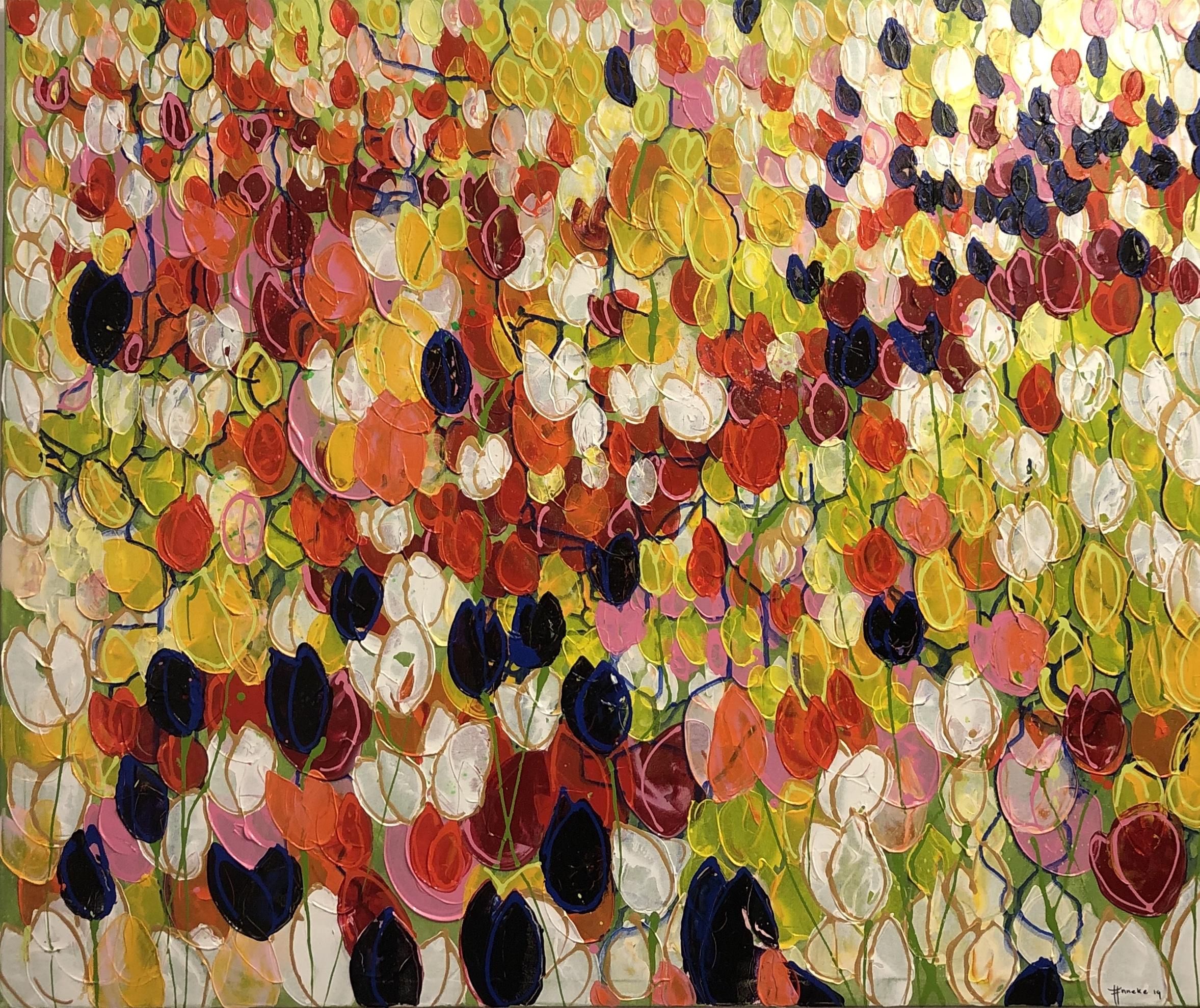 IMG_8877 schilderij anneke Swanink tulpenveld AS57