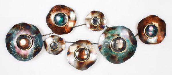 "Metalen wanddecoratie ""Ocular"""