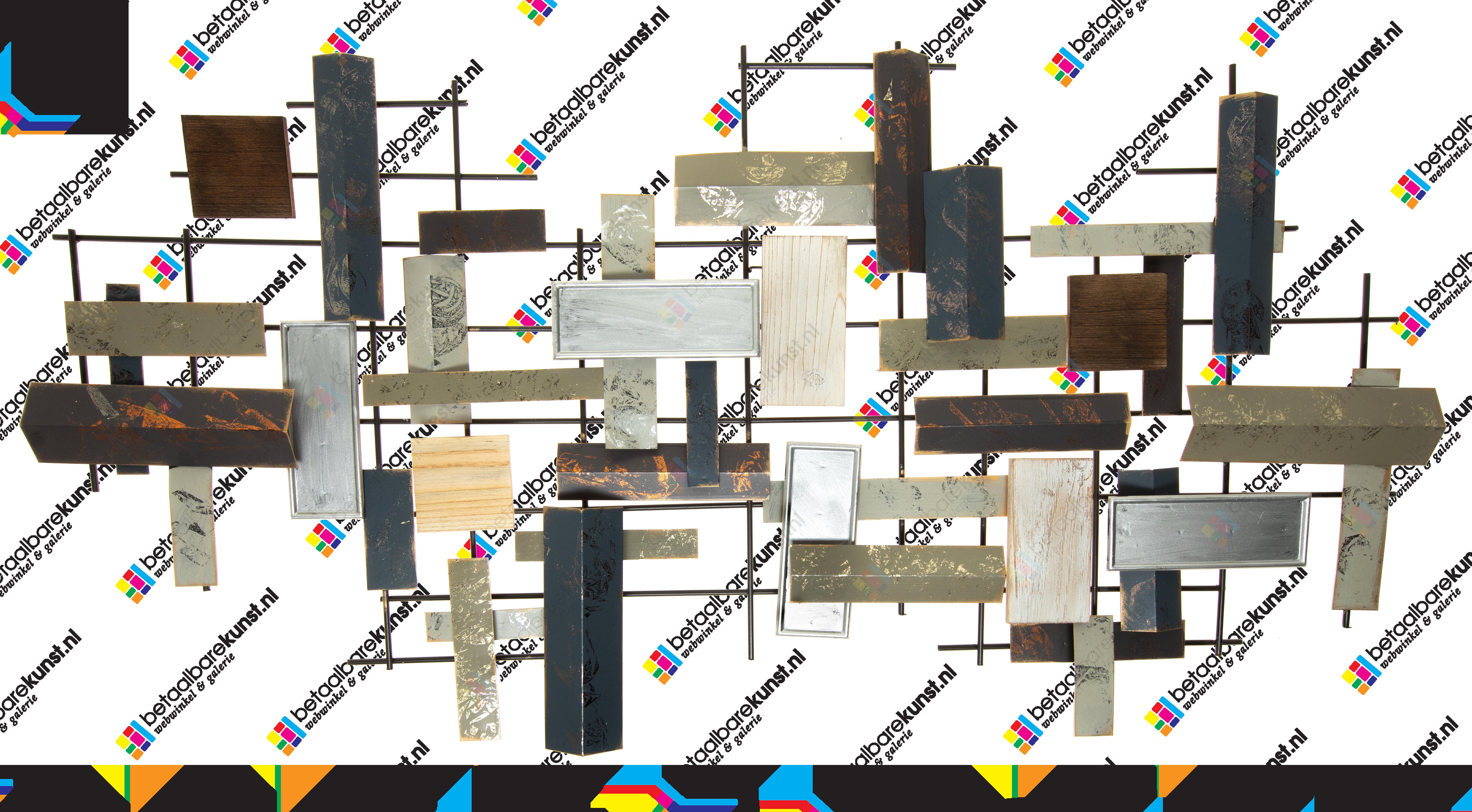 metalen wanddecoratie 1980101