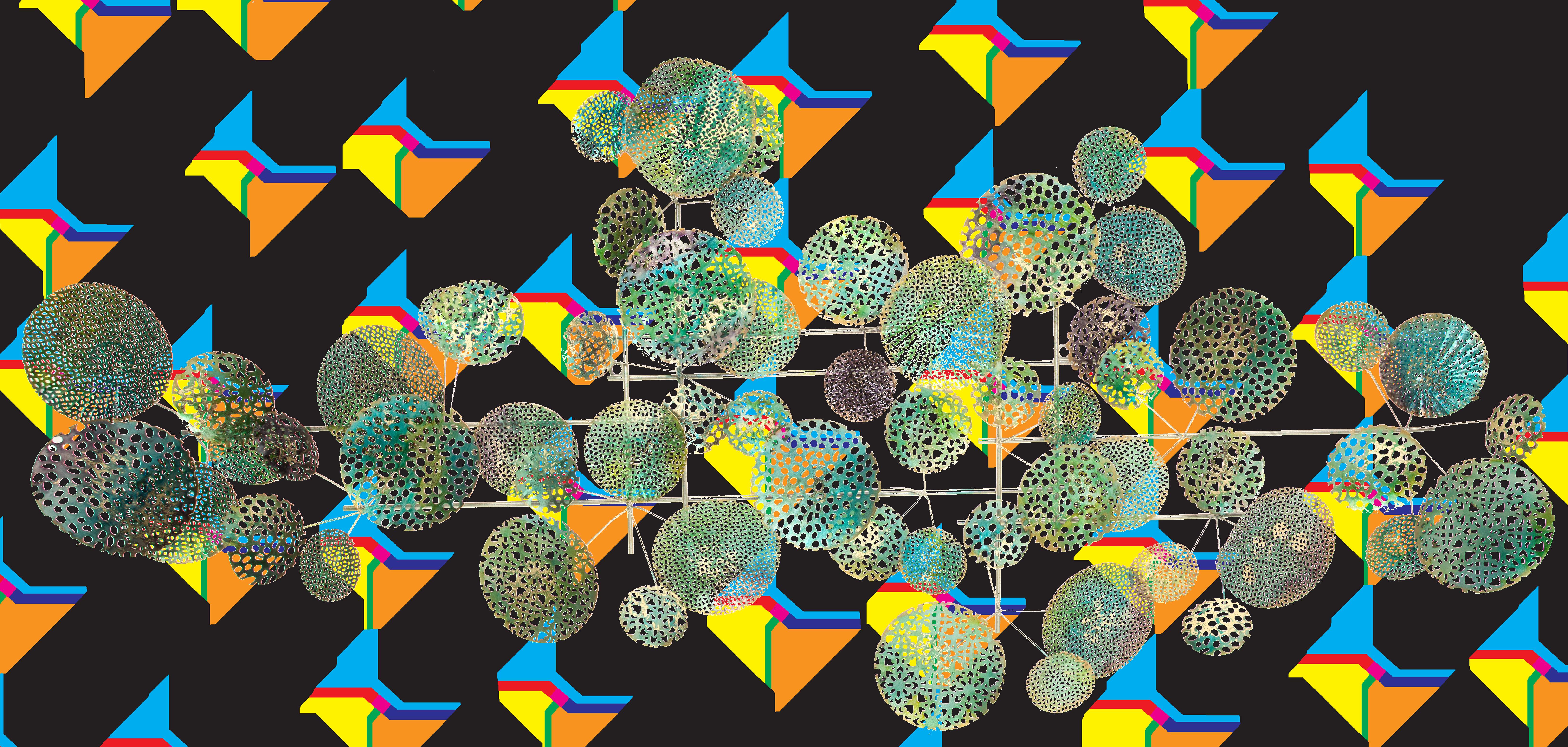 metalen wanddecoratie 1980104