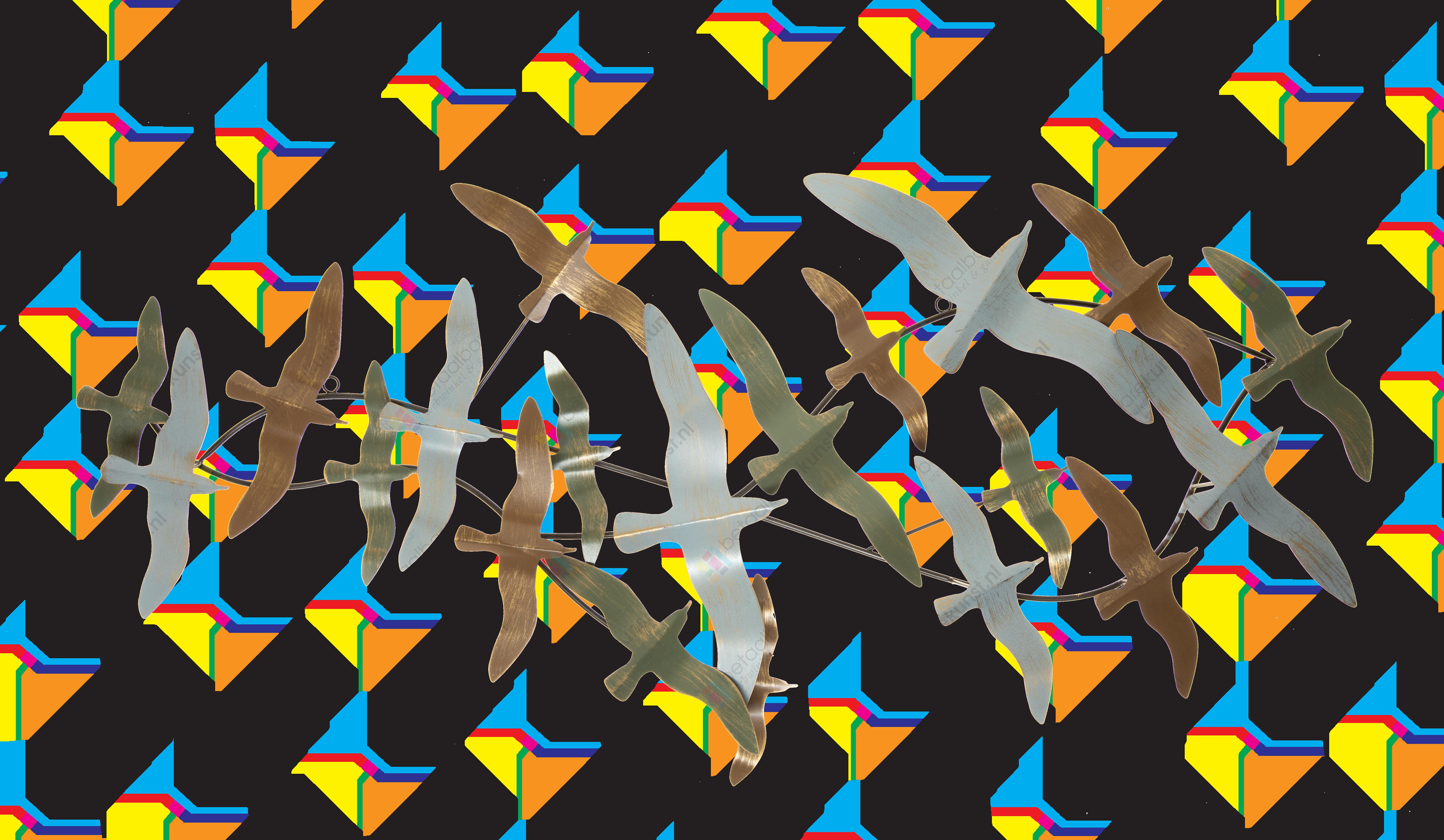 metalen wanddecoratie 1980105