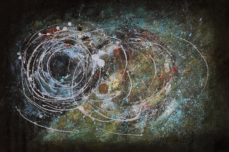 Kunstwerk Orion schilderji abstract ES-MW01