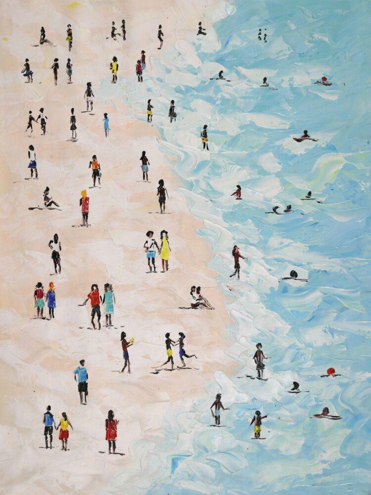 "Schilderij ""Beachlife"""