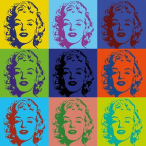 Marilyn Warhol stijl