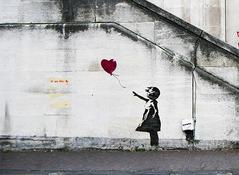 Banksy – Girl with the Balloon