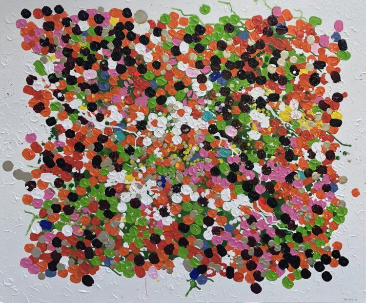 """Schilderij """"Dots"""""""