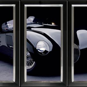 Drieluik Jaguar C-type
