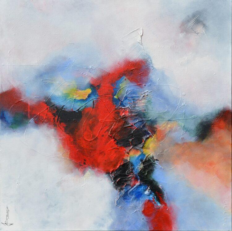 """Schilderij """"Justin Estourgie #430"""""""