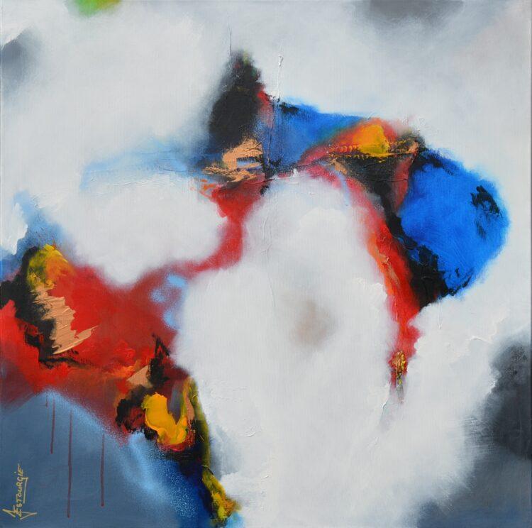 """Schilderij """"Justin Estourgie #445"""""""