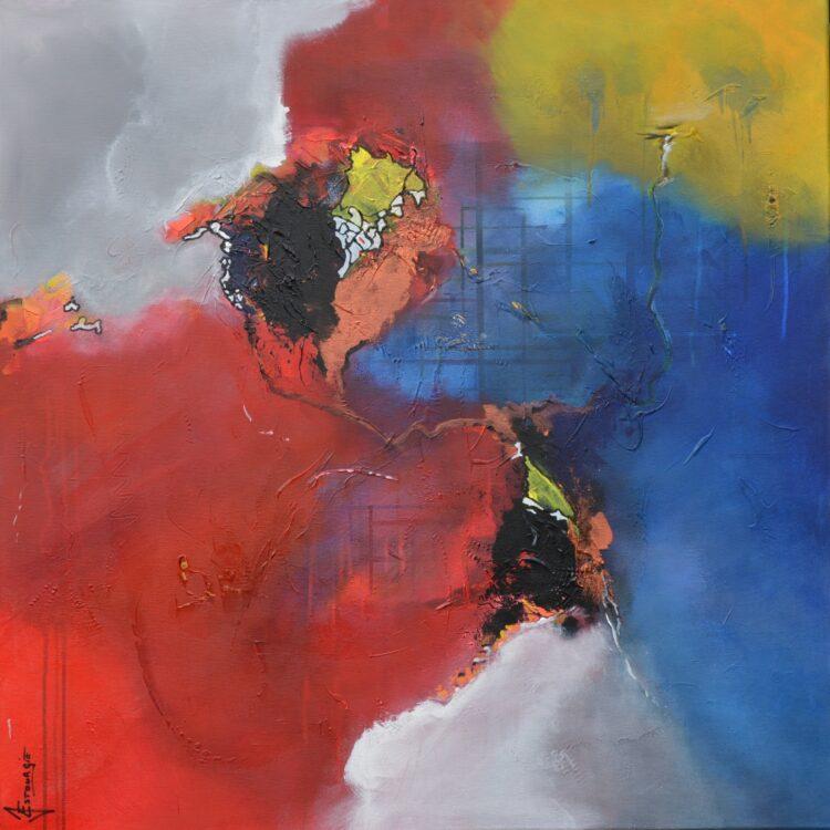 """Schilderij """"Justin Estourgie #446"""""""