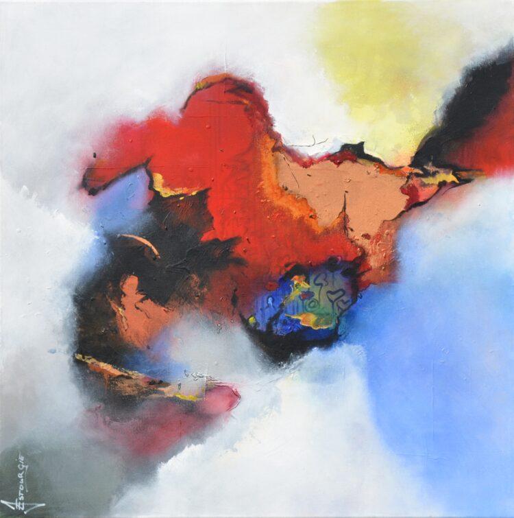 """Schilderij """"Justin Estourgie #479"""""""