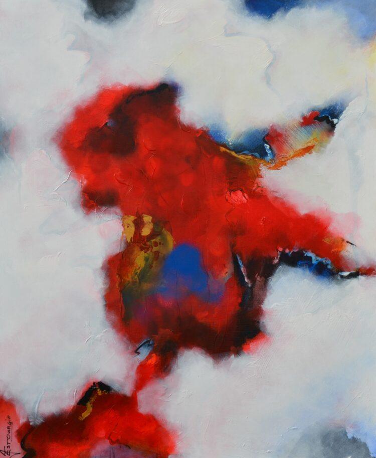 """Schilderij """"Justin Estourgie #480"""""""