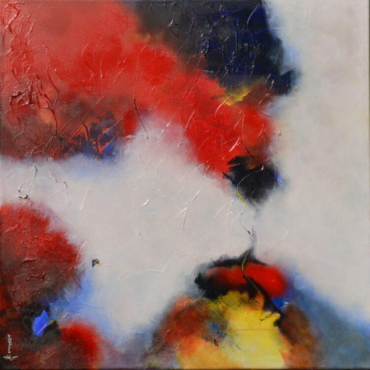 """Schilderij """"Justin Estourgie #484"""""""
