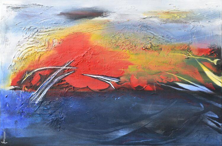 """Schilderij """"Justin Estourgie #518"""""""