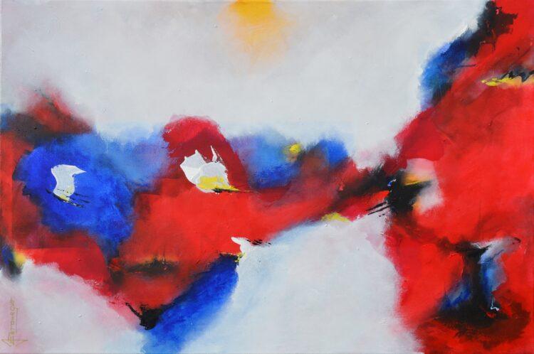 """Schilderij """"Justin Estourgie #919"""""""