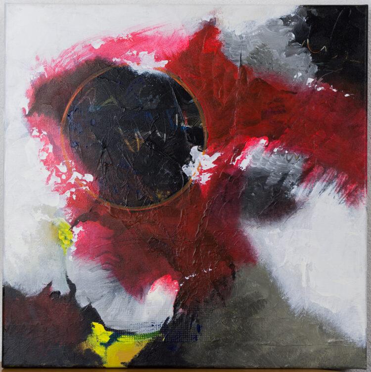 """Schilderij """"Justin Estourgie #410"""""""