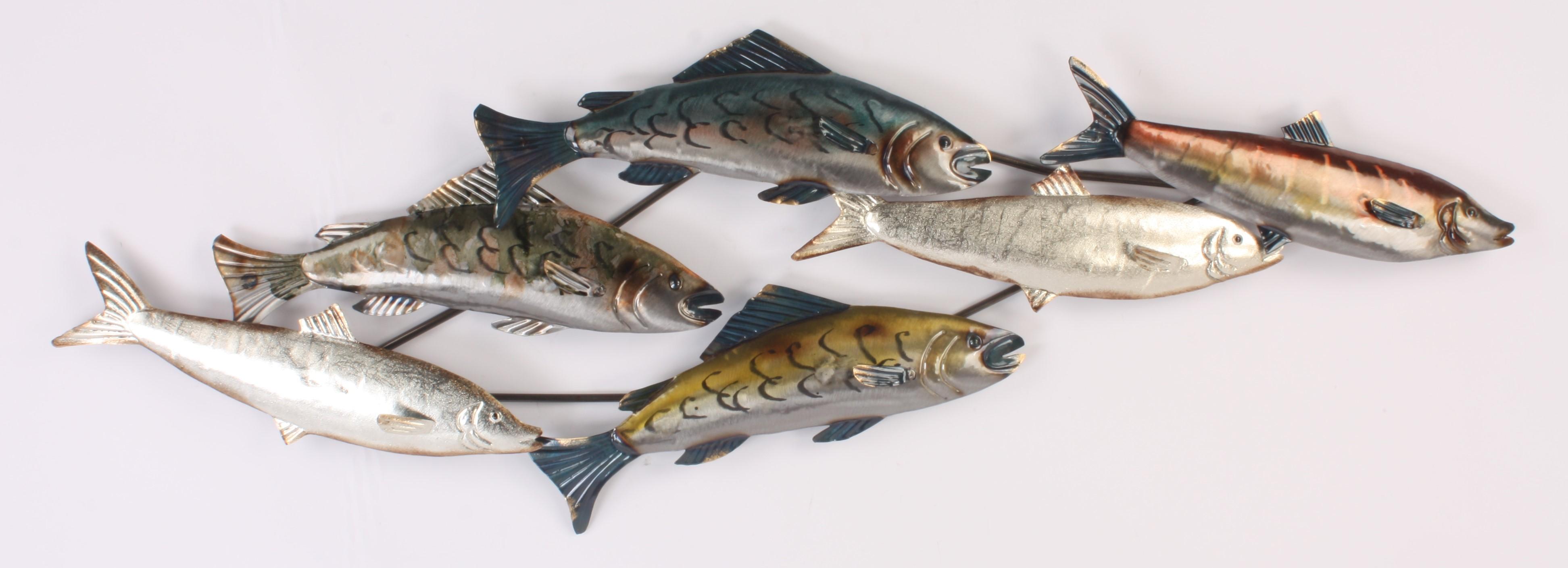 1305 Pesce metalen wanddecoratie