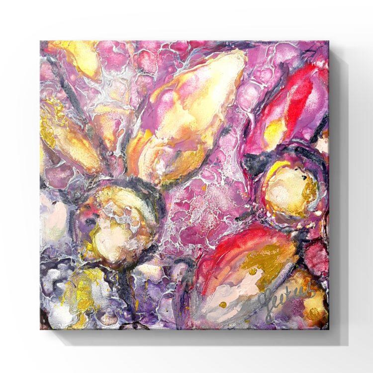 """Schilderij """"Seasons – bijenwas"""""""