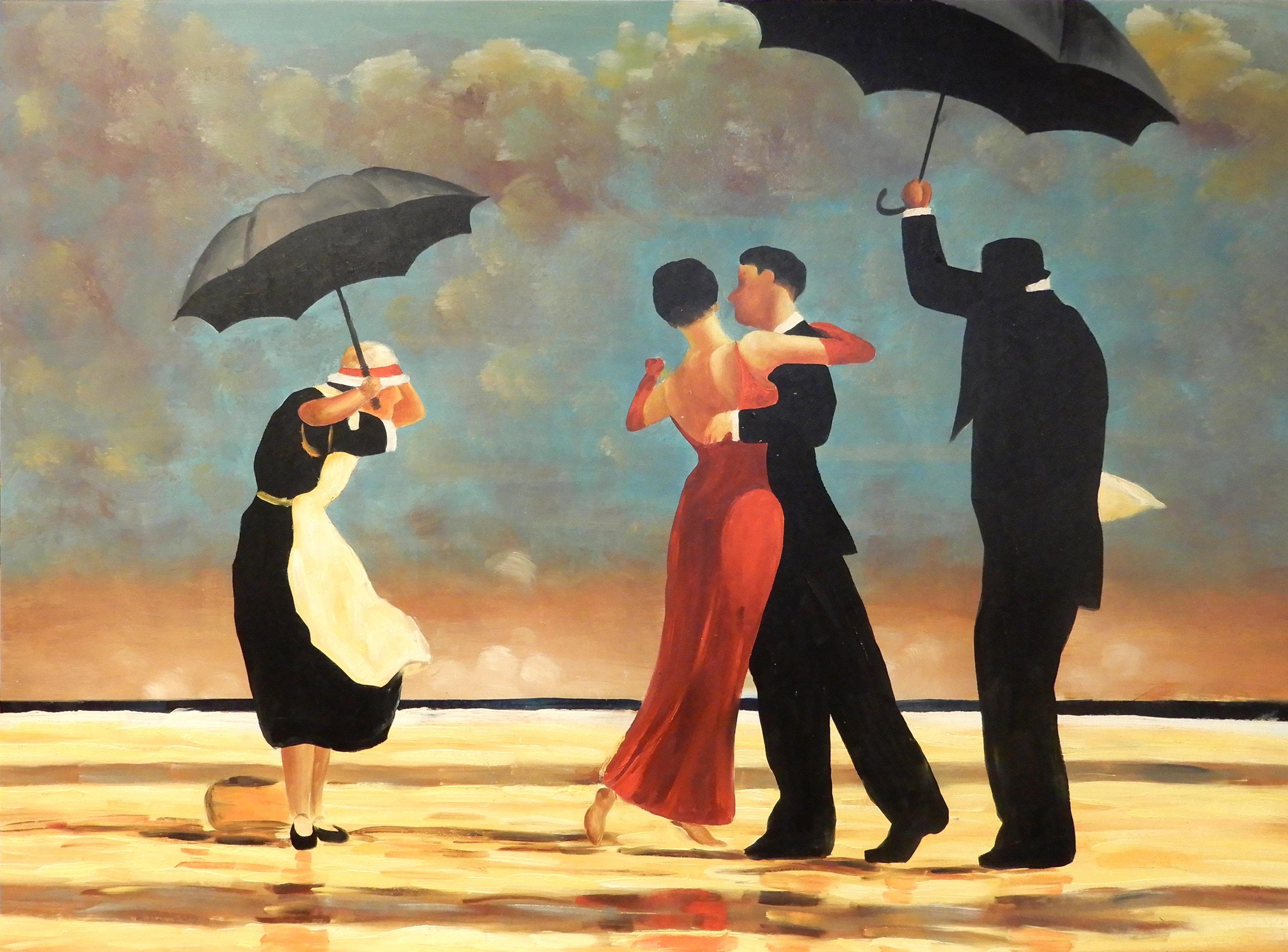 Shall we dance schilderij kunstwerk