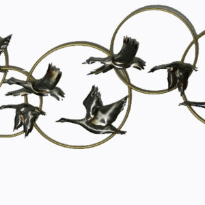 Seven birds in a ring