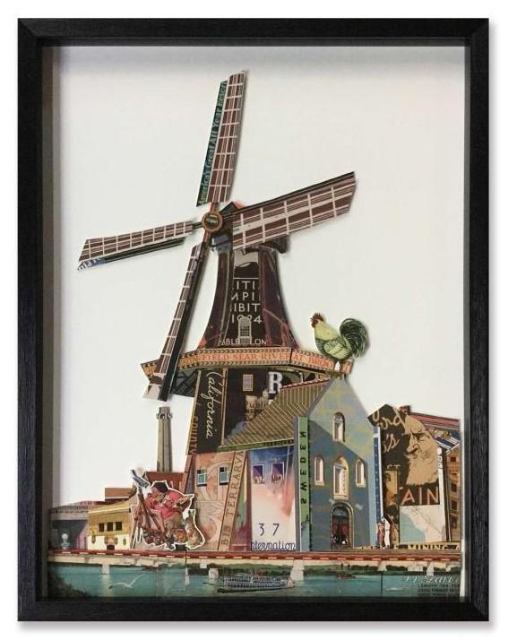 5376 Molen paper art