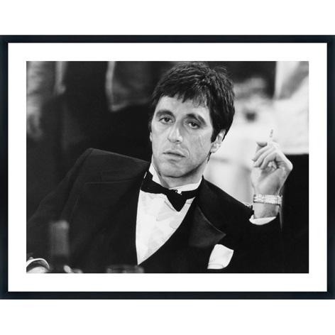 Al Pacino met sigaret